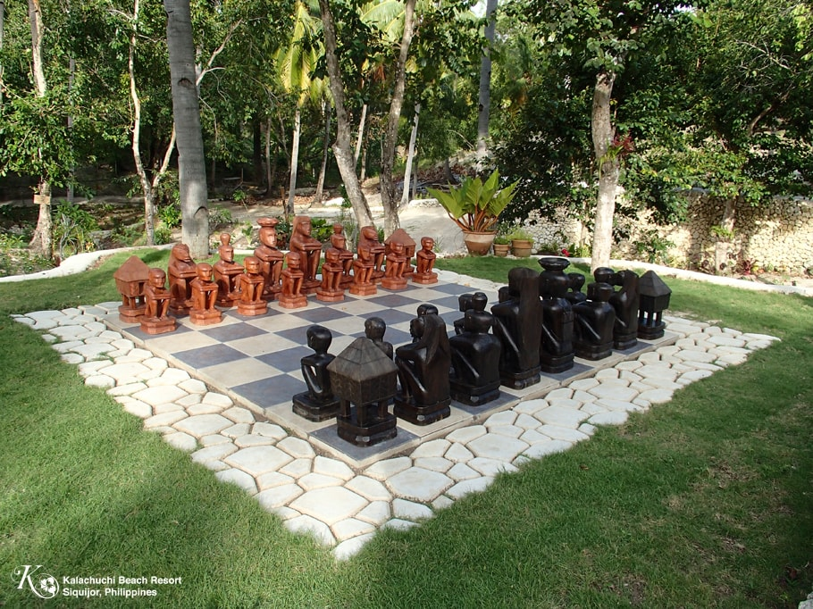 Garden Chess Kalachuchi Beach Resort