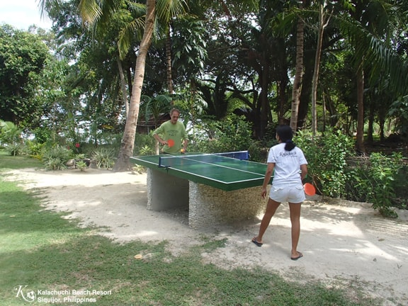 Table Tennis Kalachuchi Beach Resort